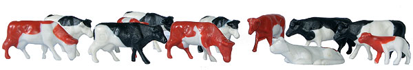 38152 - Kibri Cows Set of 12