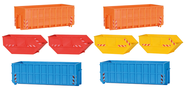 38648 - Kibri Roll Off Containers