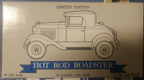 01553 - Liberty Ford Model A Hot Rod Roadster Lockable