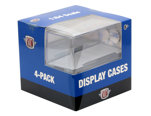22000 - M2machines M2 Auto Case 4 Pack Acrylic Display