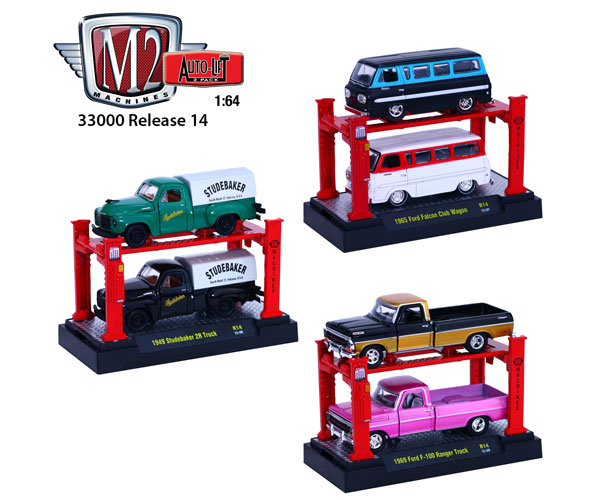 M2 Machines Auto Lift Release 14 Two 3 Piece