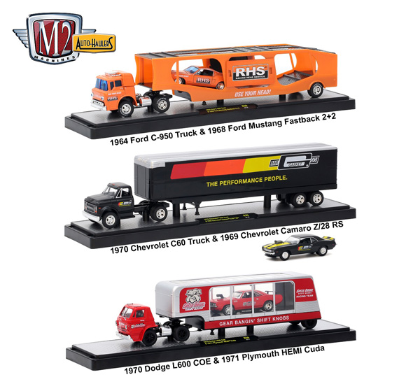 36000-30-SET - M2machines Auto Haulers Release 30 3 Piece Set