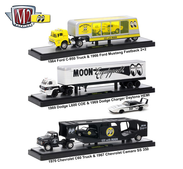 36000-MN01-SET - M2machines Auto Haulers Mooneyes Release 1 3 Piece