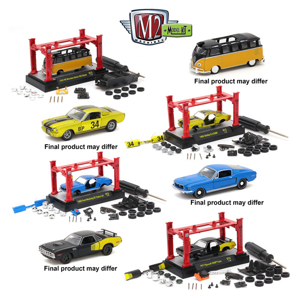 37000-13-CASE - M2machines M2 Model Kit Release 13 4 Piece