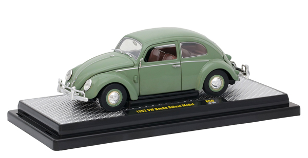 40300-59A - M2machines Auto Thentics 1952 Volkswagen Beetle Deluxe Model