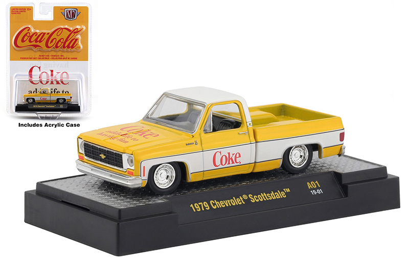 52500-A01-A - M2 Machines Coca Cola 1979 Chevrolet Scottsdale Pickup M2