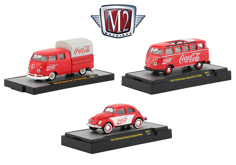 52500-DE01-SET - M2 Machines M2 Coca Cola International German Release DE01