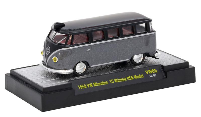 cc54290e51 Cars - M2MACHINES - 32500-VW05-CASE - Volkswagen Release 5 - 6-Piece ...