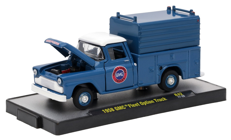 m2machines auto trucks release 42 6 piece. Black Bedroom Furniture Sets. Home Design Ideas