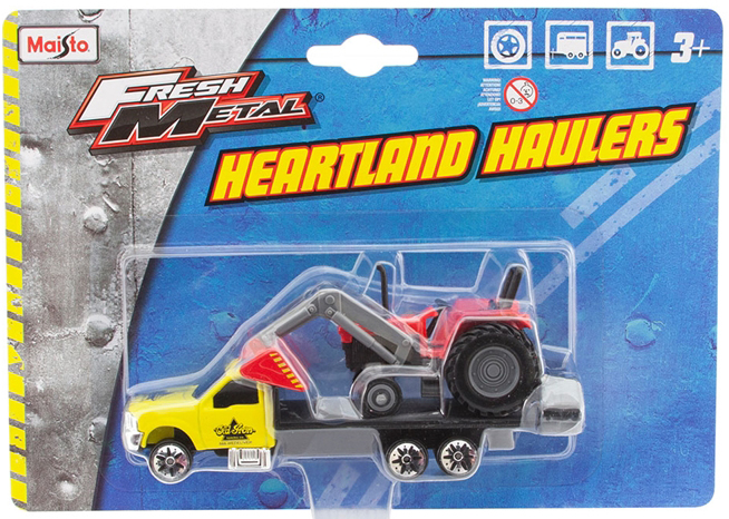 12328-M - Maisto Diecast Old Iron Towing Rollback Tow Truck