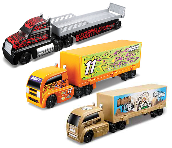 15021-SET-F - Maisto Diecast Fresh Metal Highway Haulers 3 Piece SET