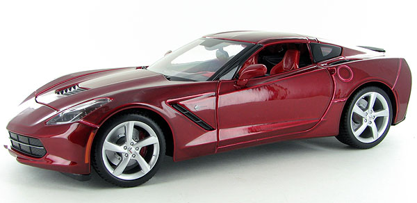 31182MR - Maisto Diecast 2014 Chevrolet Corvette Stingray