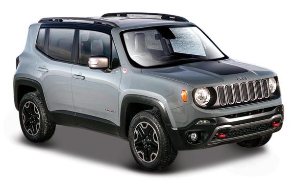 Maisto Diecast 2017 Jeep Renegade