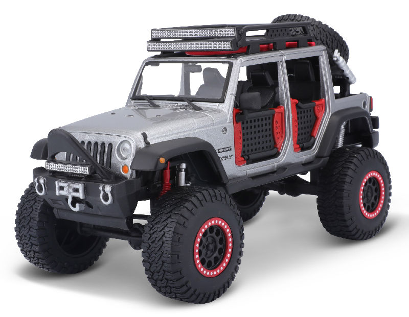 32523GY - Maisto Diecast 2015 Jeep Wrangler Unlimited