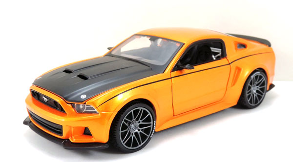 39127OR - Maisto Diecast 2014 Ford Mustang Street Racer