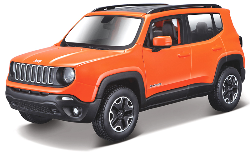 39282OR - Maisto Diecast 2017 Jeep Renegade