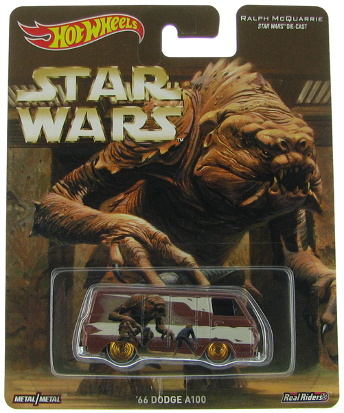 DJH07 - Mattel 66 Dodge A100 Featuring Star Wars Concept