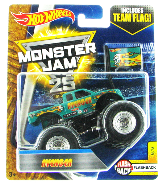 DWL64 - Mattel Avenger Hot Monster Jam