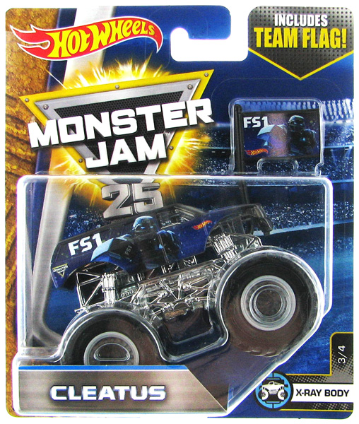 DWL93 - Mattel FS1 Cleatus Hot Monster Jam