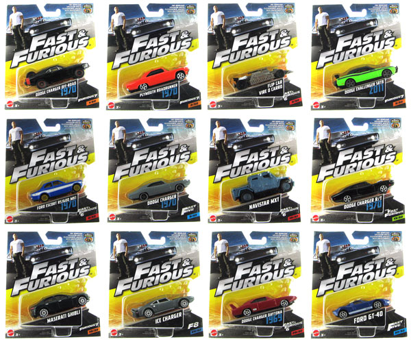 mattel fast and furious 1 55 diecast singles. Black Bedroom Furniture Sets. Home Design Ideas