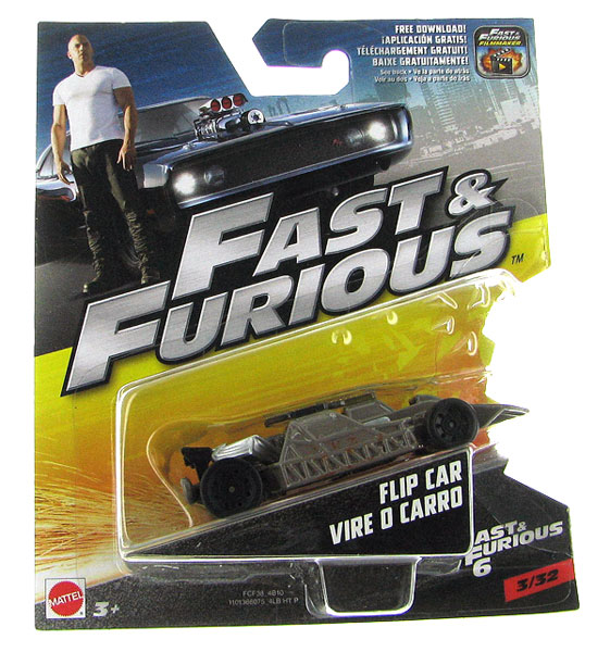 FCF38 - Mattel Flip Car Vire O Carro Fast and