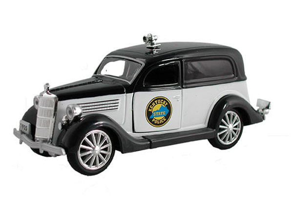 18026-B - Metallic Team 1935 Ford Sedan Delivery Kentucky State Police