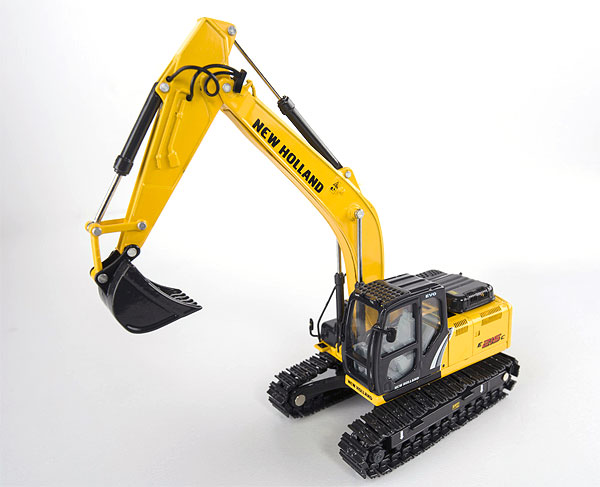 13781 - Motorart New Holland E215C Tracked Excavator A detailed