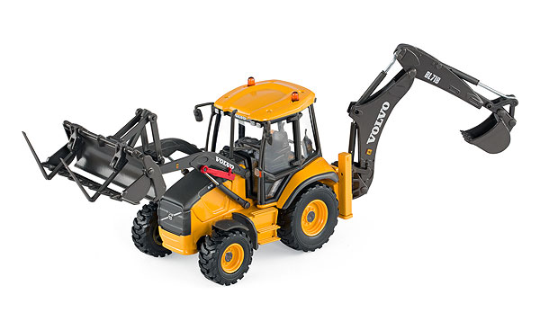 300034 - Motorart Volvo BL71B Backhoe Loader Review by Steven