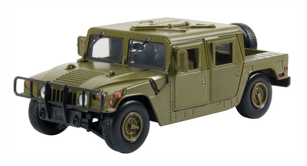 73294GR - Motormax Humvee Military Cargo _ Troop Carrier