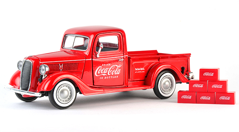 424065 - Motor City Coca Cola 1937 Ford Pickup