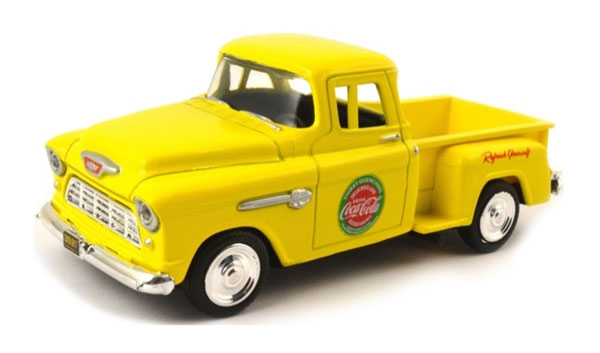 430001 - Motor City Coca Cola 1955 Chevrolet Stepside Pickup