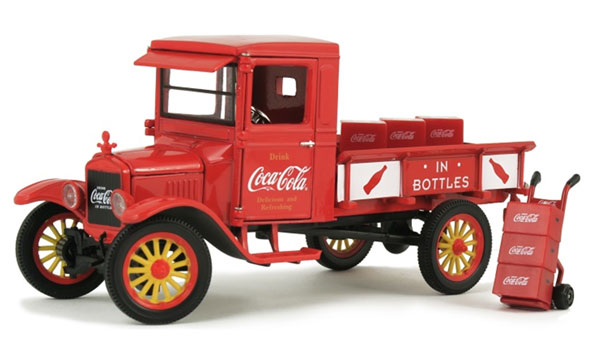 432455 - Motor City Coca Cola 1923 Ford Model TT Pickup