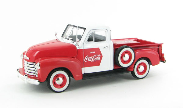 440664 - Motor City Coca Cola 1953 Chevy Pickup