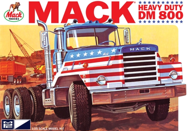 899 - MPC Mack DM800 Semi Tractor