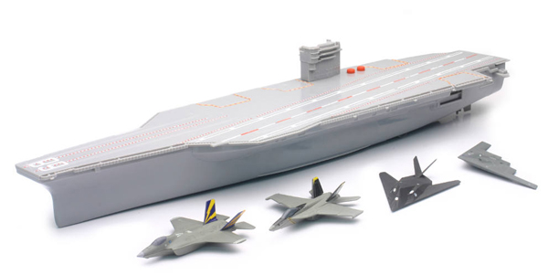 02146 - New-Ray Toys Aircraft Carrier