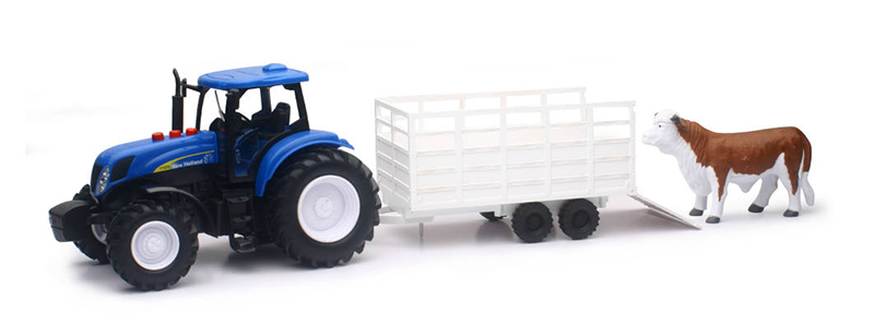 02233 - New-Ray Toys New Holland Farm Tractor