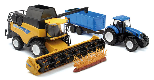 05765 - New-Ray Toys New Holland CR9090 Combine