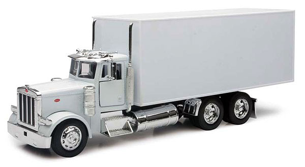 10243 - New-Ray Toys Peterbilt Box Truck