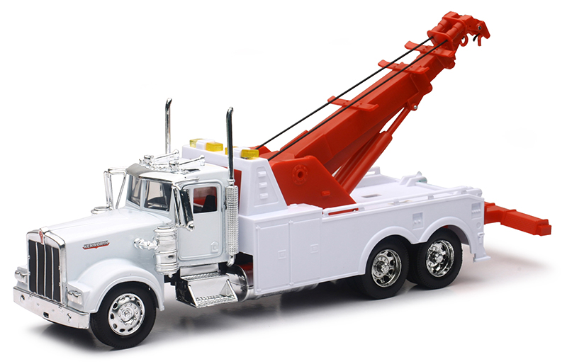 10873A - New-Ray Toys Kenworth W900 Tow Truck