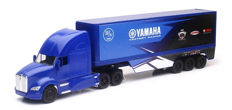 10943 - New-Ray Toys Yamaha Factory Racing Kenworth T680 Tractor