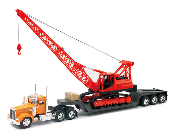 11293C - New-Ray Toys Kenworth W900 Lowboy
