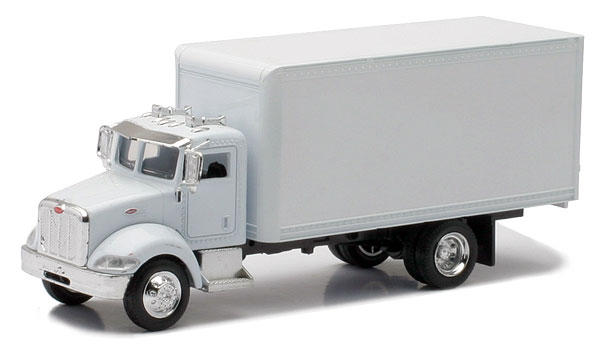 15803D - New-Ray Toys Peterbilt 335 Box Utility Truck Cab and