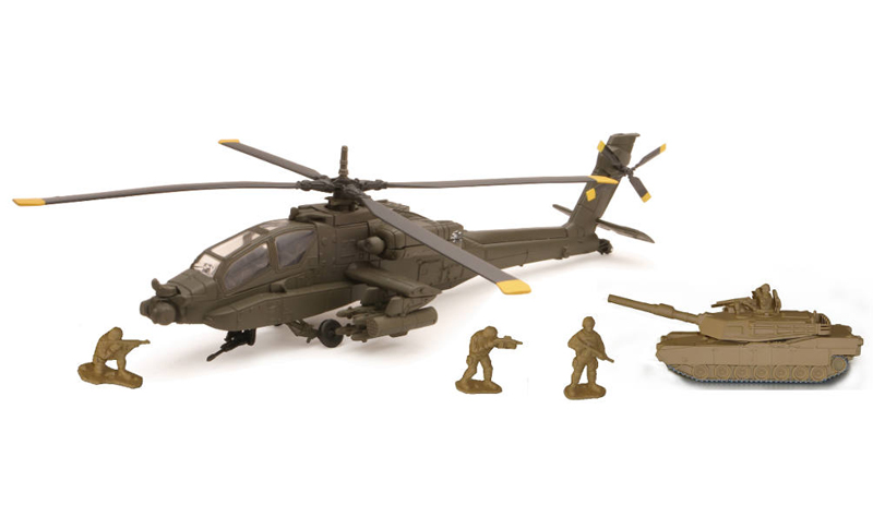 21853 - New-Ray Toys Apache AH 64