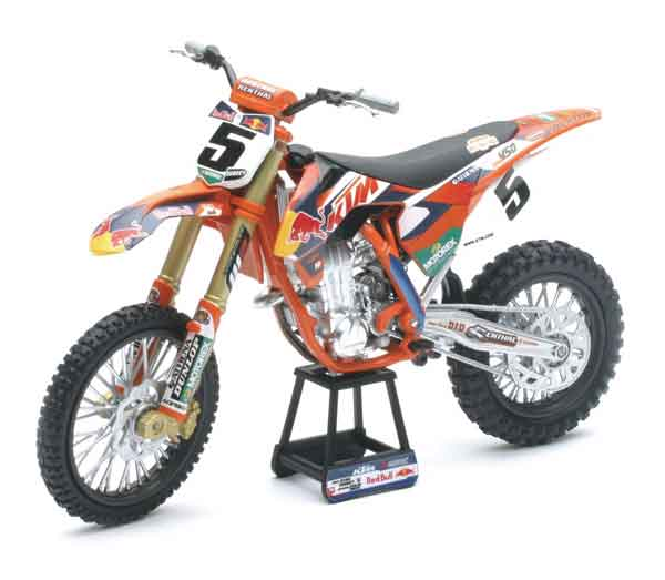 57633S - New-Ray Toys RED BULL KTM 450 SX