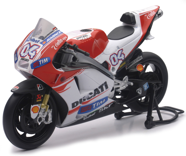 57723 - New-Ray Toys Ducati Racing Team 2015 Desmosedici Street Bike