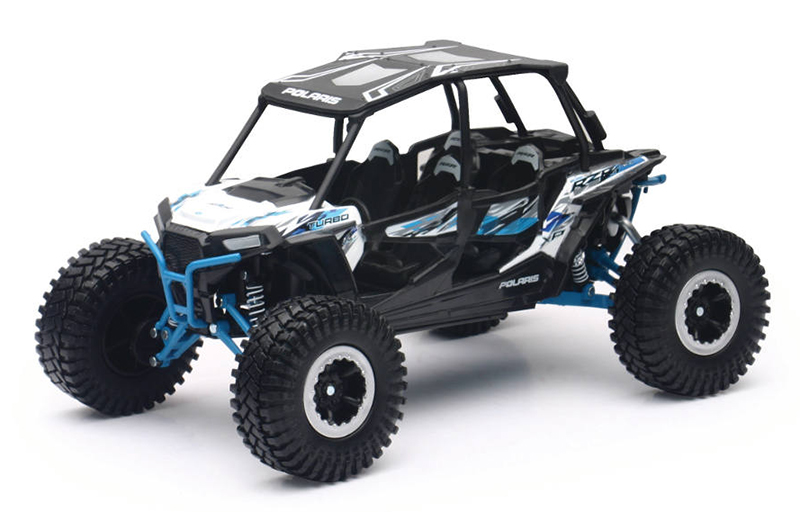 57976A - New-Ray Toys Polaris RZR XP 4 Turbo EPS Rock