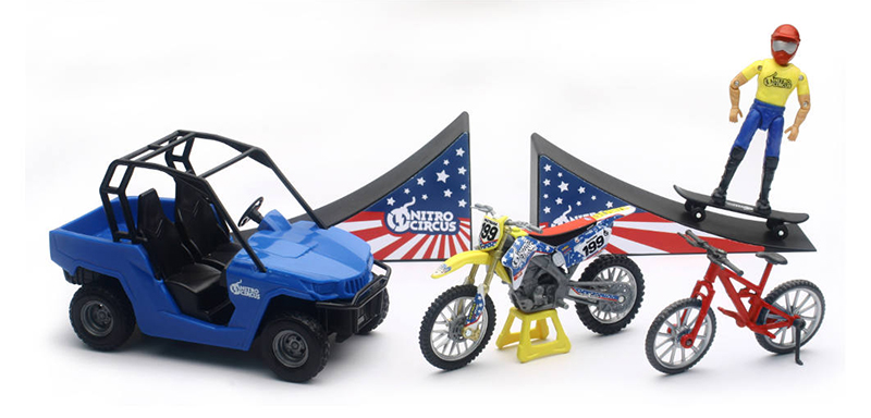 67685 - New-Ray Toys Nitro Circus Play Set