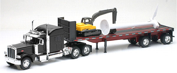 SS-10333 - New-Ray Toys Peterbilt 389
