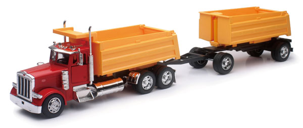 SS-10573A - New-Ray Toys Peterbilt 379 Dump Truck