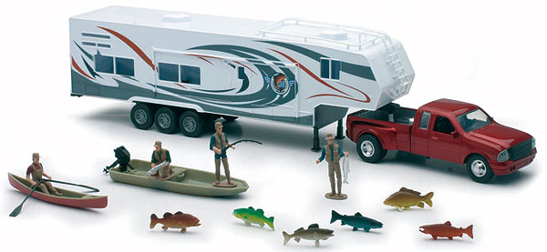 SS-10756 - New-Ray Toys Ford 350 fifth wheel